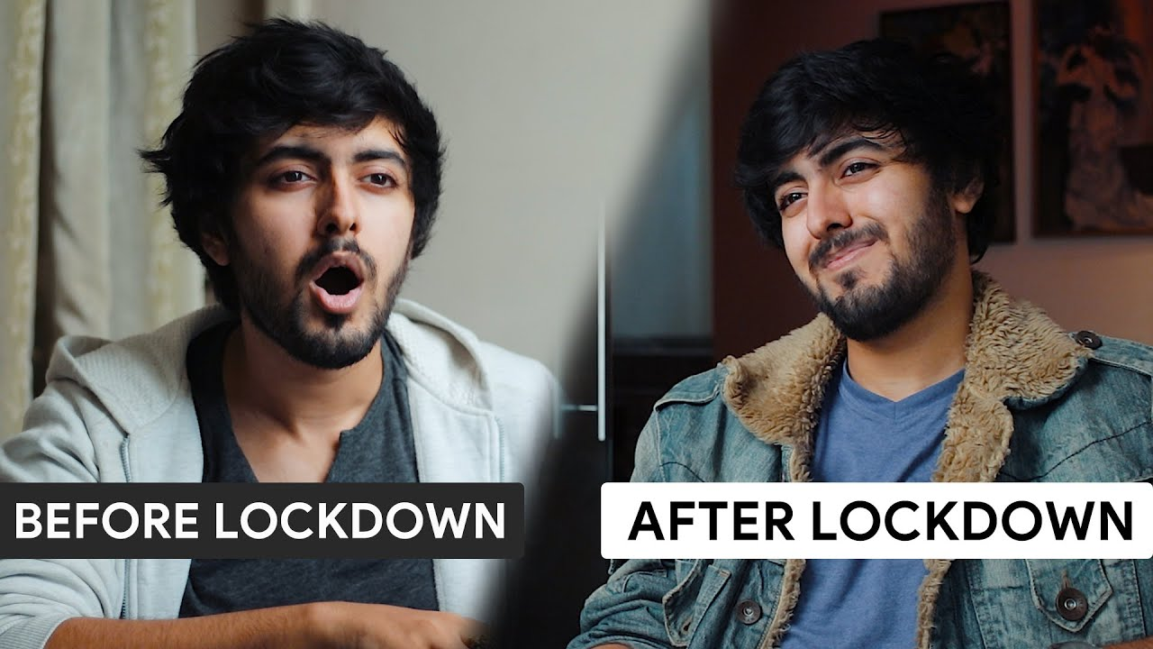 Talking about LOCKDOWN with my Past Self
