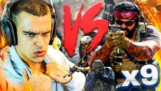 ALPHA VS 6 BOTS EN VETERANO - Call Of Duty Modern Warfare