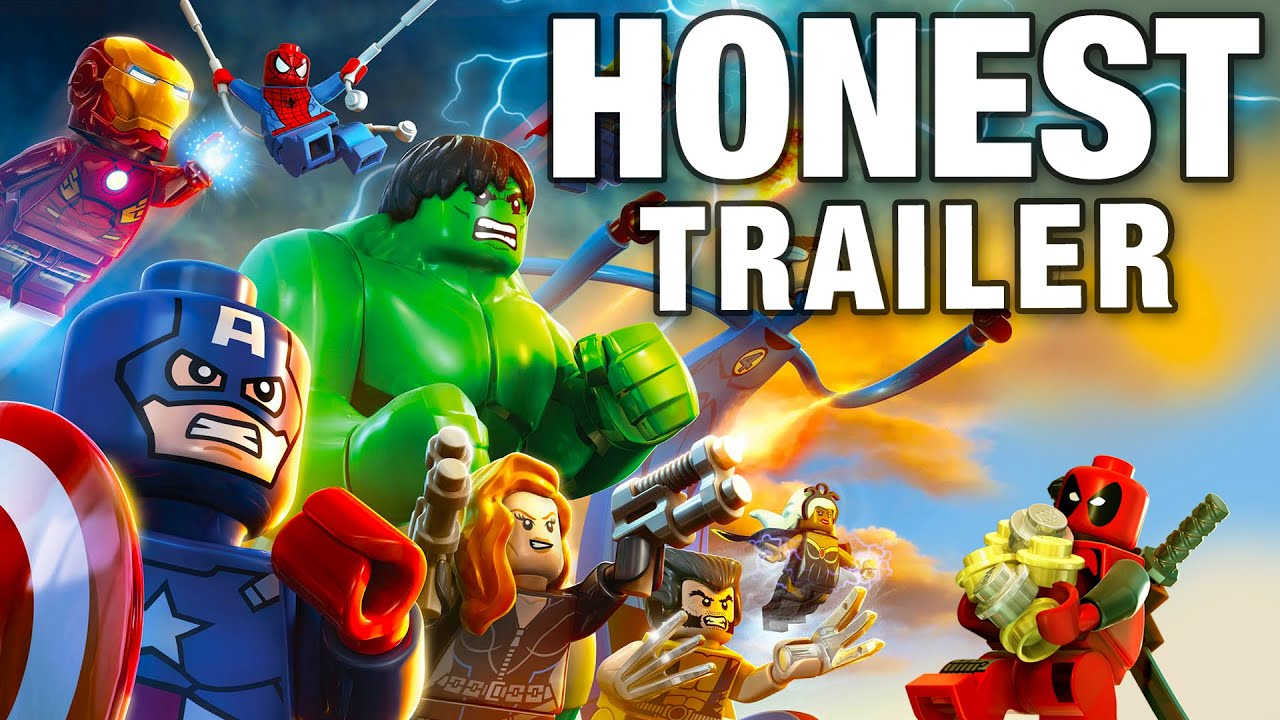 Marvel Malvorlagen Marvel Superhero The Marvel Super: LEGO MARVEL SUPER HEROES (Honest Game Trailers)