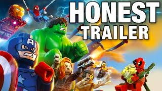 LEGO MARVEL SUPER HEROES (Honest Game Trailers)