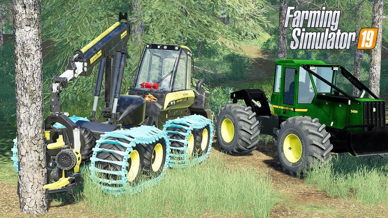 FS19 Forestry Mods - Farming Simulator 19 Logging Mods - LS19 John Deere  Skidder