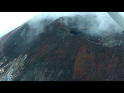 Epic scenic flight over Active Volcano New Zealand Tongariro