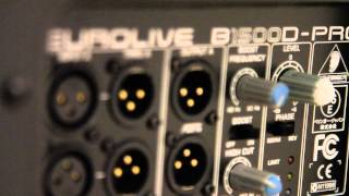 Behringer B1500D-Pro thoughts/review