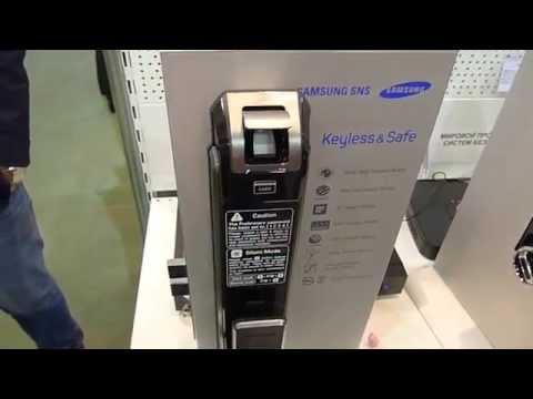 видео: samsung замок на выставке all-over-ip