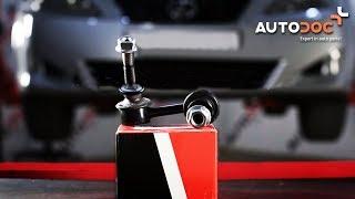 Pozrite si videoprievodcu riešením problémov s Drżiak ulożenia stabilizátora VW