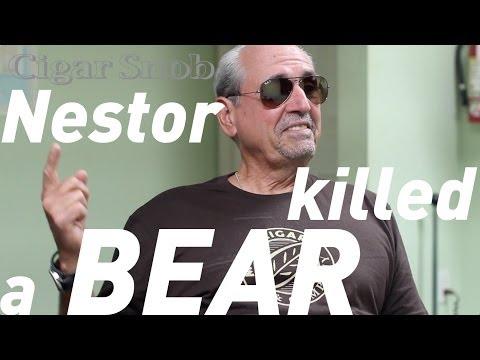 Nestor Miranda (of Miami Cigar) on hunting and bear attacks
