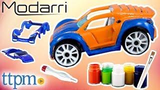 Modarri Delux Paint-It Auto Design Studio - Modarri Car Kit Review   Thoughtfull Toys