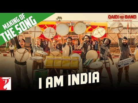 Making Of The Song - I am India | Qaidi Band | Aadar Jain | Anya Singh