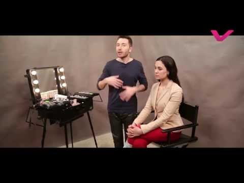 Макияж и Причёска в стиле  Dolce&Gabbana пошагово