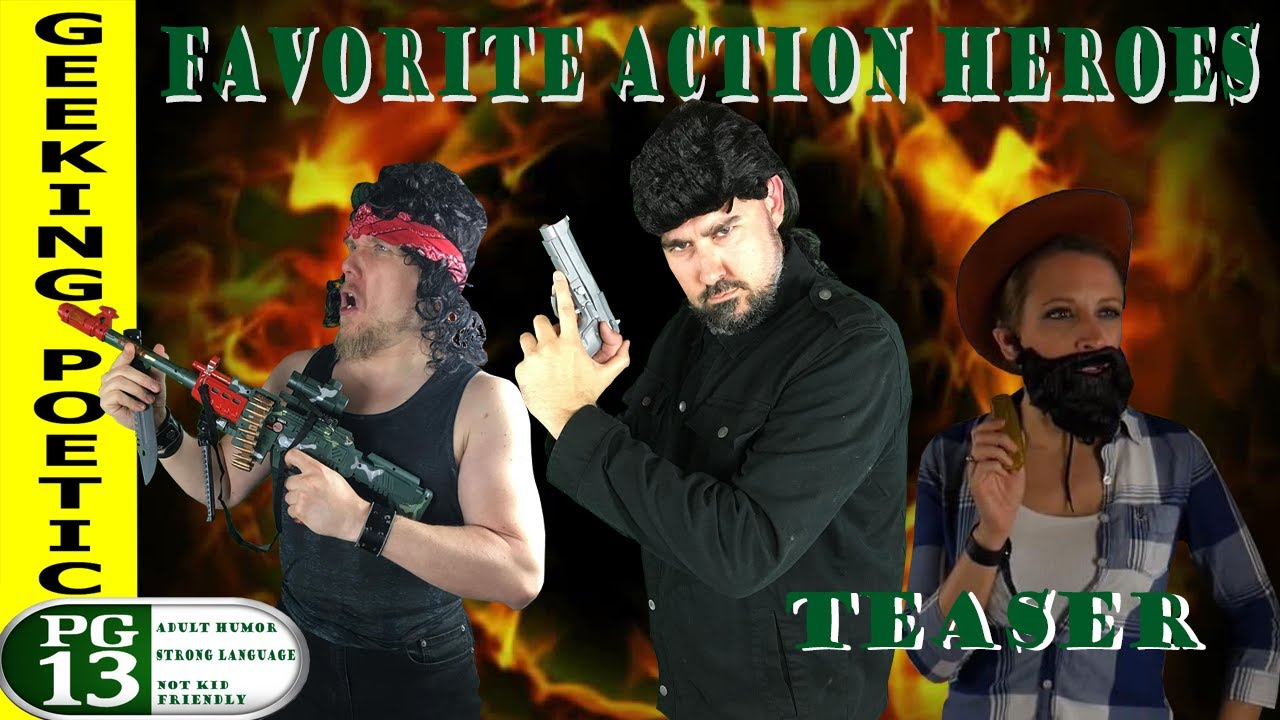 ACTION HERO MOVIES TEASER/SPOOF!  Stallone Seagal Norris