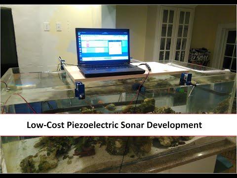 Low-Cost Piezoelectric Sonar Transducer Development