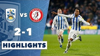 HIGHLIGHTS | Huddersfield Town 2-1 Bristol City