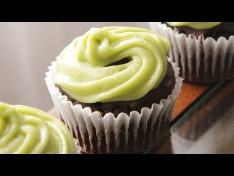 Black Bean Avocado Chocolate Cupcakes Recipe - The Vegan Cupcake Project