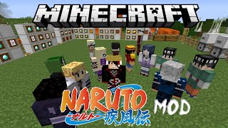 Minecraft Anime Naruto Mod Review (Sage Mode, Susanoo, Rinnegan, Amaterasu & More)