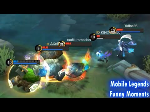 WTF Moments Grock 300IQ | Mobile Legends Funny Video from IcutYT