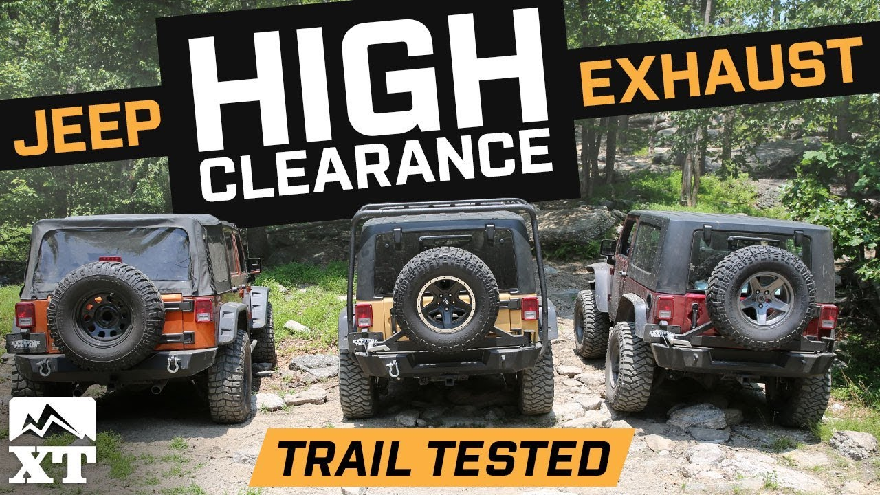 The Best Jeep Wrangler Exhaust For Off Roading High Clearance Vs Jeeptjsuspensiondiagram Tj Suspension Diagram Http 4wd Factory