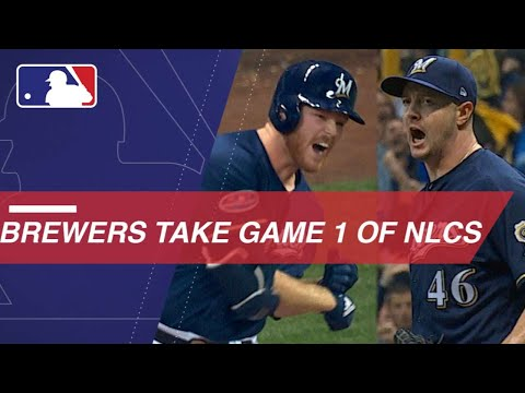 MLB playoffs 2018: Milwaukee Brewers edge Los Angeles Dodgers in NLCS Game 1