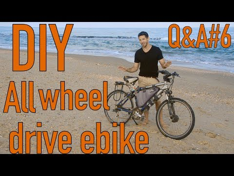 DIY Two Motor 2wd Electric Bicycle (All wheel drive 2x2!!) Q&A#6