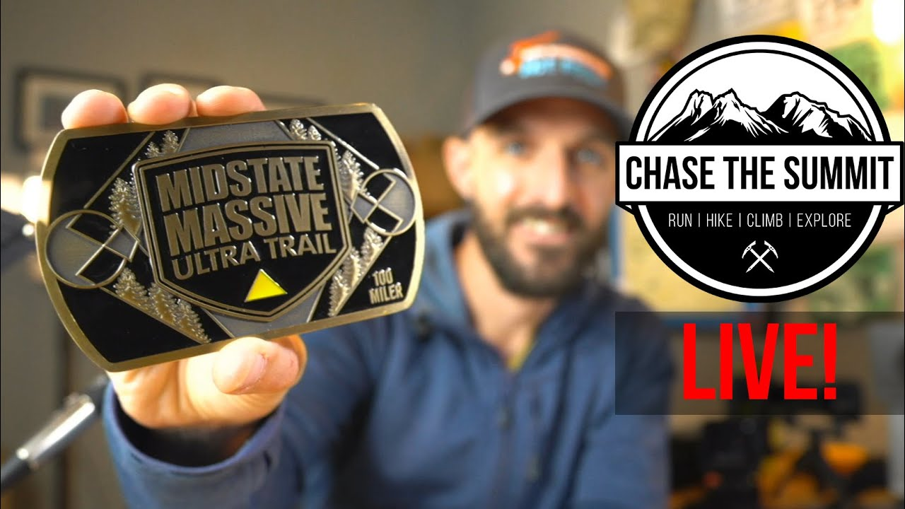 CTS Live #5 - 2020 Midstate Massive 100 Miler is ON! EEK! Race Q&A with RD Andy | Race Training Tips