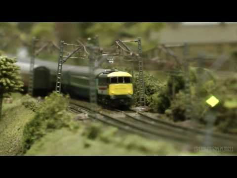Z Scale Model Railway Display Standen Watchett from Britain