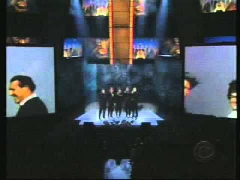 Nsync Bee Gees Medley Live from Grammy 2003