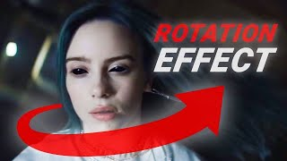 BILLIE EILISH 'bury a friend' - ROTATION EFFECT Tutorial Video