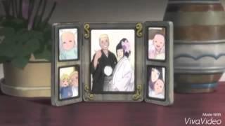 NARUTO AND HINATA with boruto and himawari