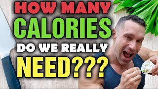 How Many Calories D๐ We REALLY Need To EAT??? Cutting vs Bulking vs Maintenance!!!