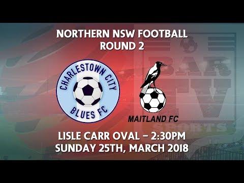 2018 NNSWF NPL Round 2 - Charlestown City Blues v Maitland Magpies FC