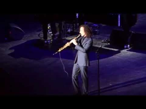 Kenny G  Forever in Love 15042014 Crocus City Hall, Moscow