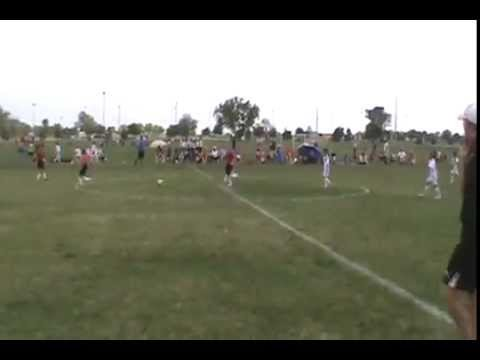 #14 Jeron Askren of the U9 Wichita Legends Scores A Hat Trick In 2 Minutes