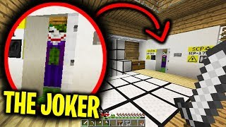 The Joker Keeps Visiting Our Minecraft Base At Night.... Scary Minecraft Video