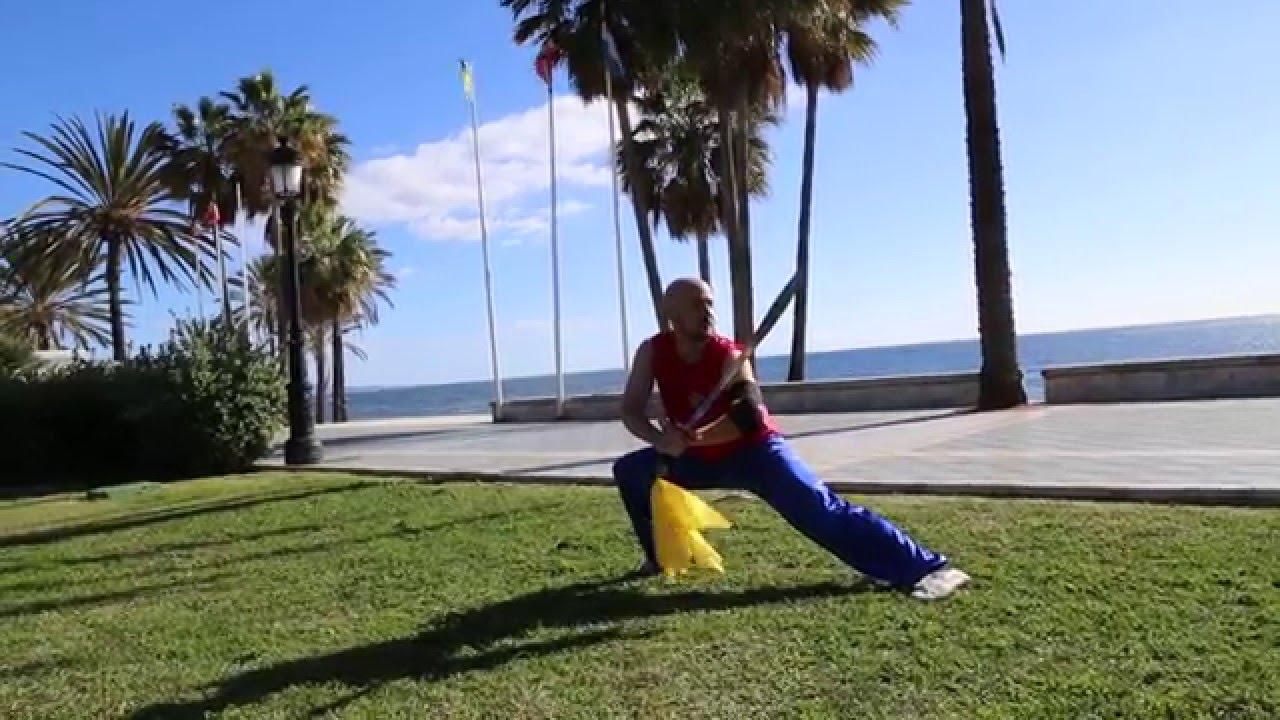 Alumnos de Wushu de Marco Nieto - YouTube