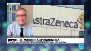 Suspension du vaccin AstraZeneca :