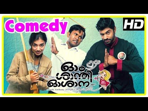 Ohm Shanthi Oshaana Movie | Full Comedy Scenes | Nivin Pauly | Nazriya | Aju Varghese | Vineeth