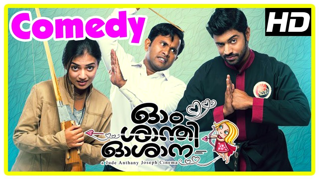 Download Ohm Shanthi Oshaana Movie | Full Comedy Scenes | Nivin Pauly | Nazriya | Aju Varghese | Vineeth