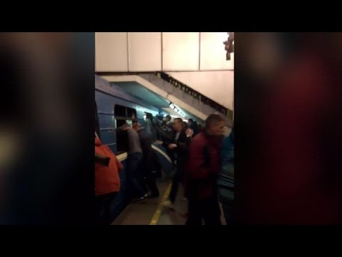 Deadly explosion rocks St. Petersburg subway