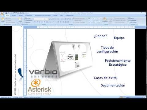 VoIP2Day Webinar by Avanzada7 - VERBIO  Hablando con su máquina Asterisk  ASR y TTS - 15/02/2012