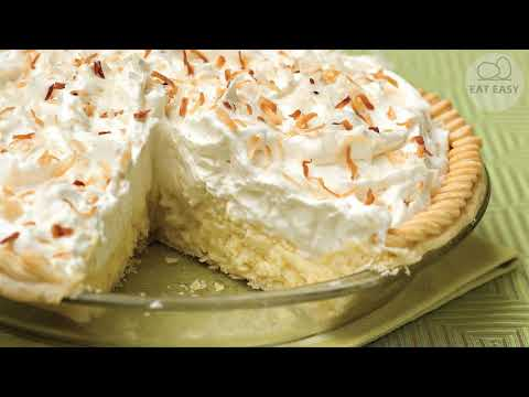 Old Fashioned Coconut Cream Pie. EASY!