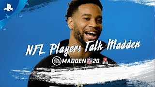 Madden NFL 20 - NFL Players Talk Madden Ratings Trailer | PS4