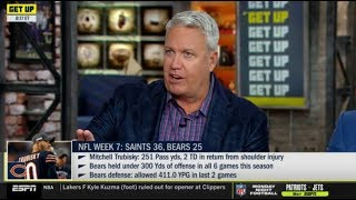 "Rex Ryan ""heated debate"": Week 7: Packers def. Raiders 42-24; Saints beat Bears 36-25 