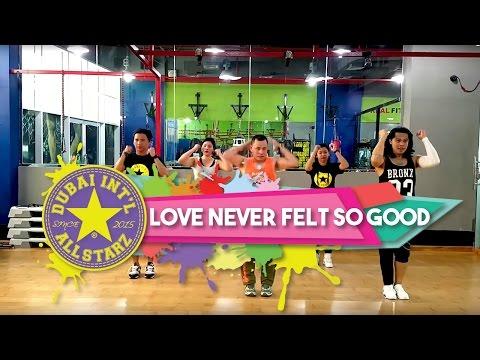 Love Never felt So Good | Zumba® fitness | Michael Jackson, Justin Timberlake | Dhonz Librel
