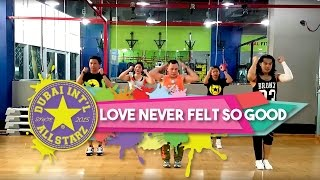 Love Never felt So Good | Zumba® fitness | Michael Jackson, Justin Timberlake | Dhonz Librel