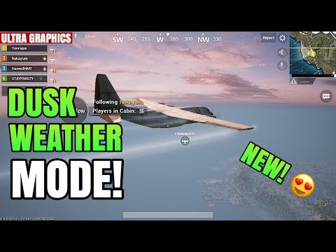 NEW UPDATE! - Dusk Weather MODE Montage | Version 0.4.0 iOS | PUBG Mobile (English Version)