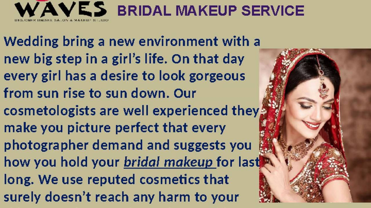 Best Bridal Makeup Packages In Noida At Very Affordable Prices Call 9650538358