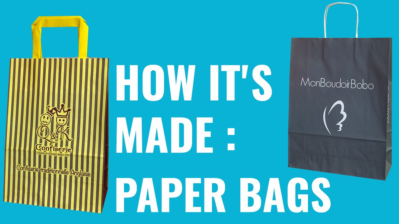 News programs and projects of jagisa paper bags - Tutorial How It S Made Paper Bags