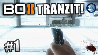 "BLACK OPS 2 Zombies Tranzit ! Ali-A LIVE ""Green Run"" Part 1! - Call of Duty: BO2 Zombies Gameplay"