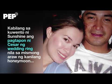 "Sunshine Cruz's exclusive PEP.ph interview reveals her ""kalbaryo"" with Cesar Montano"