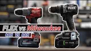 FLEX vs Milwaukee (8ah 21700 Cell Batteries)