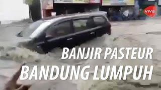 detik detik banjir besar menerjang pasteur kota bandung